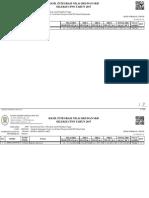 Lampiran i - Hasil Integrasi Nilai Skd Dan Skb CpnS Tahun 2017