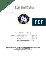 Kelompok4 - Sistem Pengukuran Flow Atau Laju Aliran (Ultrasonic Flowmeter)