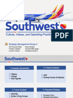 SM Group 4 Case Presentation - Southwest Airlines