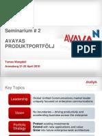 Avaya Aura Roadmap