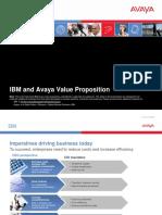 IBM-Avaya Value Proposition Final 052909