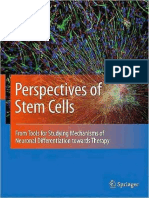 Karla Loureiro Almeida, José Abreu, C. Y. Irene Yan (Auth.), Henning Ulrich (Eds.)-Perspectives of Stem Cells_ From Tools for Studying Mechanisms of Neuronal Differentiation Towards Therapy-Springer N