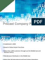 Precast Company Profile -2016