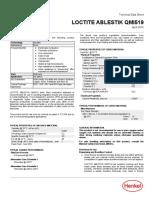Loctite Ablestik QMI519 - TDS