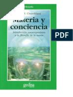 Materia y Conciencia - Churchland