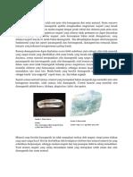 Sifat Diamagnetik Mineral