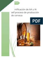Aspecto e Impacto Ambiental Cervecera