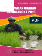 Kecamatan Grabag Dalam Angka 2016