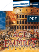 Age of Empires - The Rise of Rome - Manual - PC