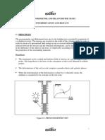 PMT and Dilatometer Test