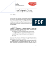 Transforming Pedagogy in Primary
