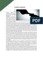 Articulo de Opinion Sobre La Corrupcion