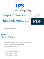 Philips Cleanroom New Products Summary
