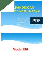 Model Elit dan model Rasional