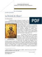 Leccion 3.5. Escuela de Alepo
