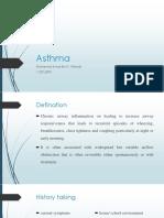 Asthma by Ikmal Wahab
