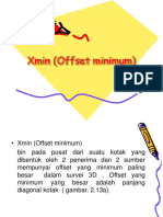 Xmin (Offset Minimum)Ambon