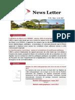 Newsletter de LIRES N38 Fr