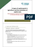 CoP Capital Costs