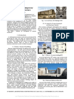 Evolution of Contemporary Museum Architecture