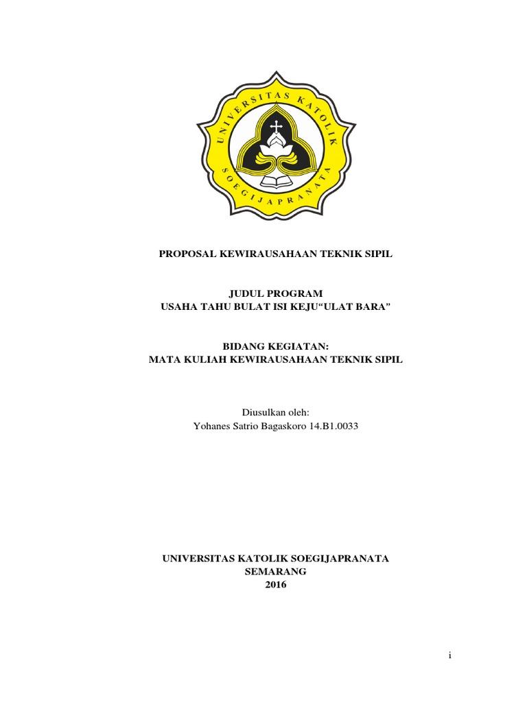 Proposal Kewirahusaan