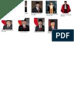 Daftar Lembaga Tinggi Negara Periode 2014-2019