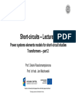 SC_Lecture_8_Power Systems Elements Models for Short-circuit Studies_Part_II