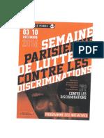 La Mairie de Paris Lutte Contre Les Discriminations