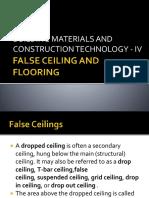 False Ceiling and Flooring