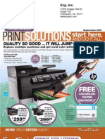 September 2010 Smart Deals - Print Solutions