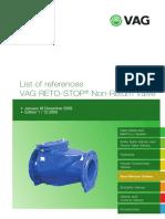Referencelist RETO-STOP 2009 Edition1 en 12-09
