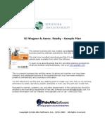 RJ Wagner Real Estate Business Plan