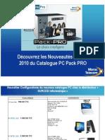Pack Pro - Nouveautés Février 2010