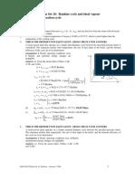 Solutions ProblemSet10 Sem22007