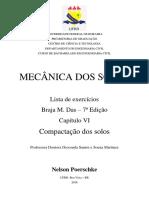 Resolução Braja M Das - 7ª Ed - Capítulo 06 - Compactação Dos Solos