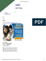 Soch Lyrics_ Punjabi Songs Lyrics.pdf