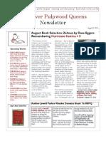 RRPQ August Newsletter