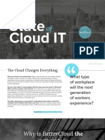 The 2016 State of Cloud IT Report 1