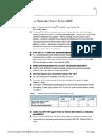 Redundant Power System 2300 Qa