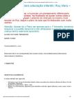 Diário de Um Autista _ Plano de Aula Para Educação Infantil ( Ruy Hara – 1º Ano )