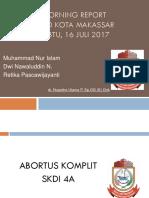 RSUD.kota Makassar 10 Juli - 16 Juli 2017