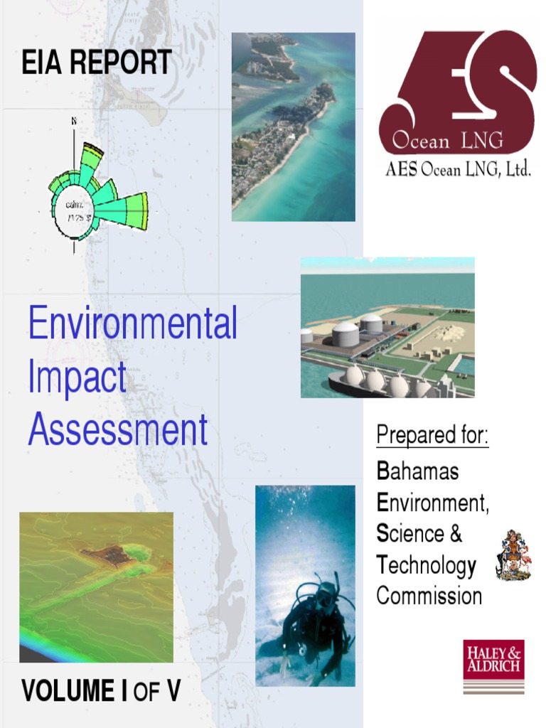 Aes Ocean Cay Eia Environmental Impact Assessment Liquefied Native Union Belt Cable Lightning Marine 12m Natural Gas