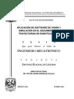 Aplicacion de Sotware de vision y simulacion en el seguimiento de trayectorias en robotica movil_Unam.pdf