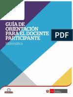 Matemática Guía Del Participante Sj