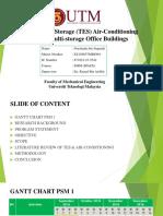 Thermal Energy Storage in Office Buildings