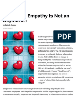 Corporate Empathy is Not an Oxymoron