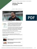 Riquelme Critica Grêmio e Fla e Diz Qualquer Um Pode Ganhar Libertadores