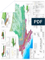 Mapa Geologico de Sao Paulo