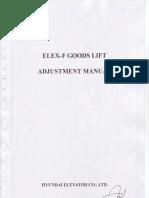 Manual Adjustment Elex - 4F