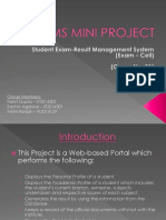 DBMS Project PPT